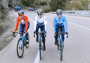 maglia ciclismo Movistar in linea