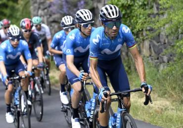 Valverde, Mas e Lopez guidano Movistar alla Vuelta a España